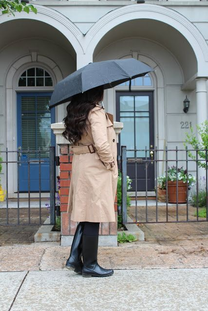 Rain gear to wear in the Spring and Summer months. Classic Rain wear fashion.