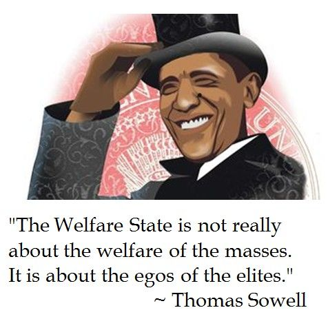 Thomas Sowell on the Welfare State MOST EVIL MONSTER
