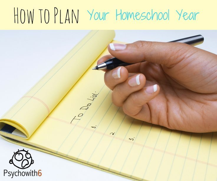 3 Simple Strategies for Planning Your Best Homeschool Year - http://psychowith6.com/3-simple-strategies-for-planning-your-best-homeschool-year/
