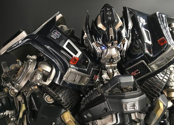 Prime 1 Studio Movie Ironhide Statue - In-Hand Images Of Package, Unassembled Figure, & Final Product