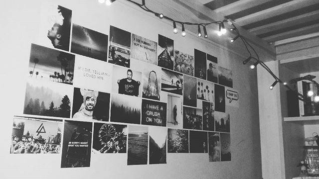 'I thought I was a fool for no-one But, oh baby, I'm a fool for you'  #blackandwhite #photos #bedroom #stylish #lights #xmasiscoming #bed #polishgirl #linkinparkonthewall #wall #ideas #goal #mojsyf