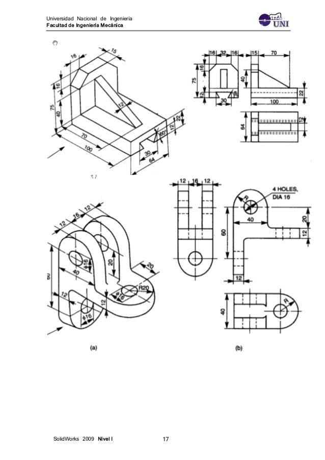 Ejercicios Solidwork 1 In 2020 Autocad Isometric Drawing Technical Drawing Isometric Drawing Exercises