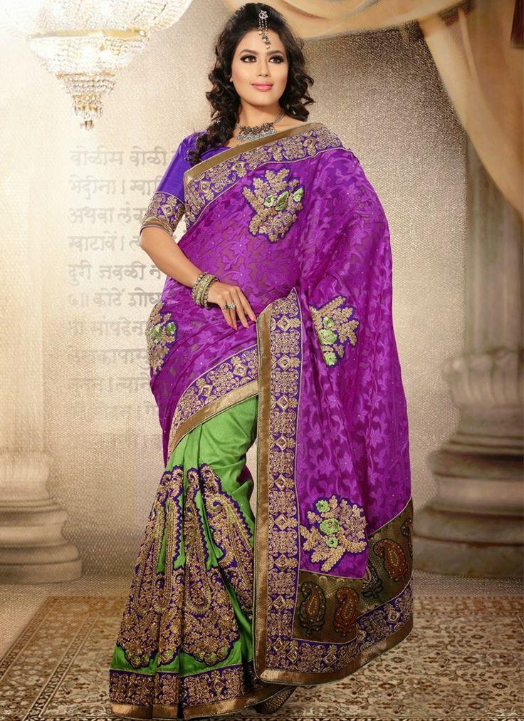 Designer saree online shopping usa, Latest indian designer saree collection 2013, Indian designer wear wedding sarees