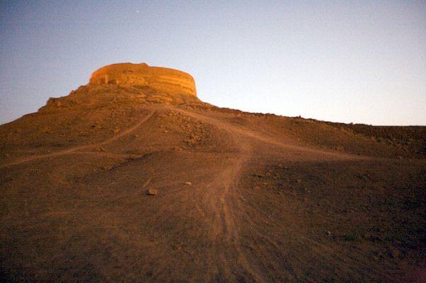 Zoroastrian Towers of Silence | Atlas Obscura