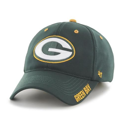 Relaxed Stretch Fitted Green Bay Packers Hat