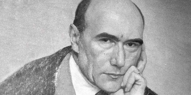 """Faut-il sauver la tombe des grands-parents de Gide? Né le 22 novembre 1869 à Paris, André Gide a reçu le Prix Nobel en 1947. On lui doit """"La Symphonie pastorale"""" en 1919 et """"Les Faux-monnayeurs"""" en 1925. Il est mort à Paris le 19 février 1951. (c) SIPA"""