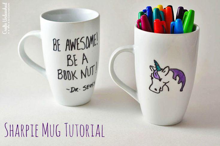 A DIY Teacher Gift Idea: The Sharpie Mug