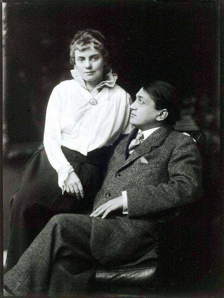Ady Endre és Boncza Berta (Csinszka) 1915