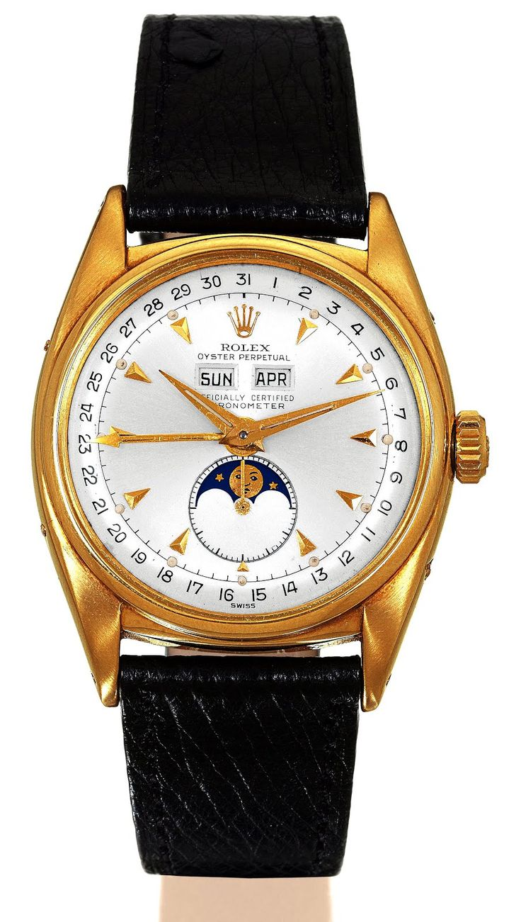 A Beautiful Rolex Moonphase 1952 Reference 6062