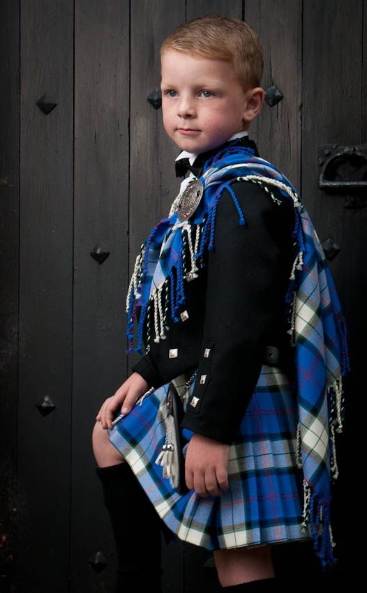 This little laddie is a favorite Scottish model