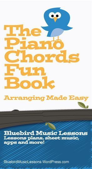 The Piano Chords Fun Book Bluebird Posts Pinterest Pianos