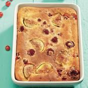 Clafoutis aux fruits rouges et aux figues - une recette Fruit - Cuisine