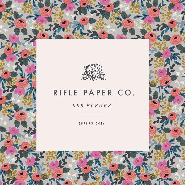 Anna Rifle Bond, Rifle Paper Co.