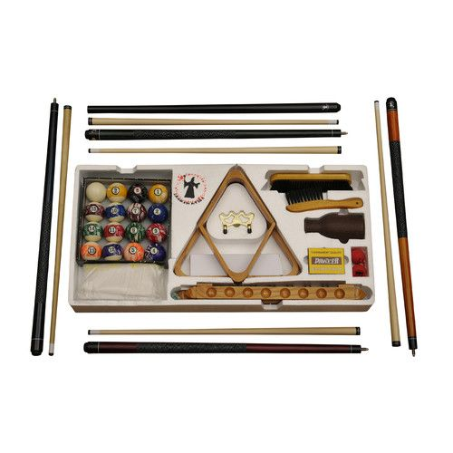 Found it at Wayfair.ca - Traditional Cedar Log Deluxe Pool Table Accessory Kit