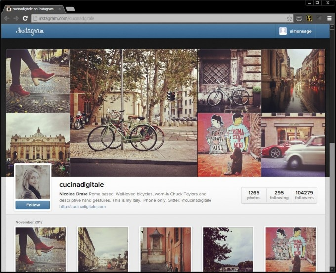 Instagram is coming online, officially. Everyone will now have an online profile, but they're keeping the mobile only upload tradition. Should be interesting.
