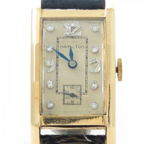 A 1940's Gent's Hamilton wristwatch. #Rutherford #Melbourne
