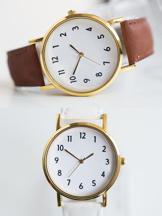Women's Watch Wrist Watch Unisex Watch Boyfriend Watch by 7475