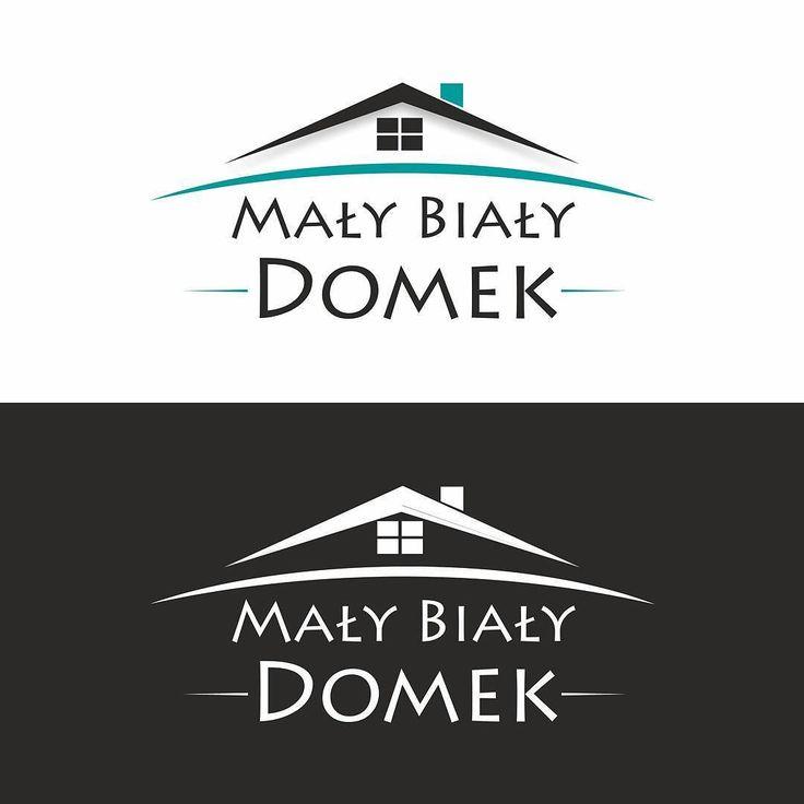 Logo Mały Biały Domek #projektgraficzny #graphicdesign #logo #mgraphics #buskozdroj #nadajemyksztaltypomyslom www.mgraphics.eu