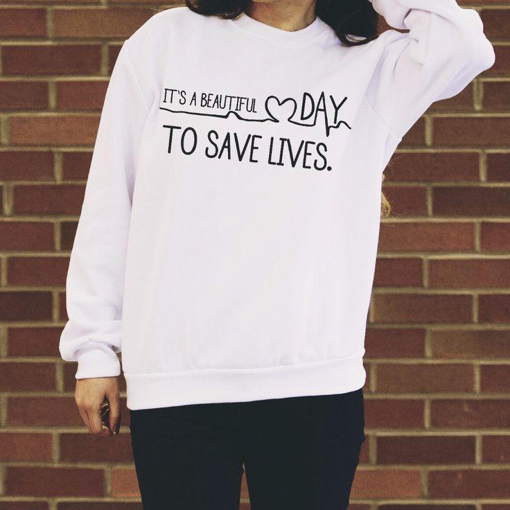 Grey's Anatomy sweatshirt                                                                                                                                                                                 More