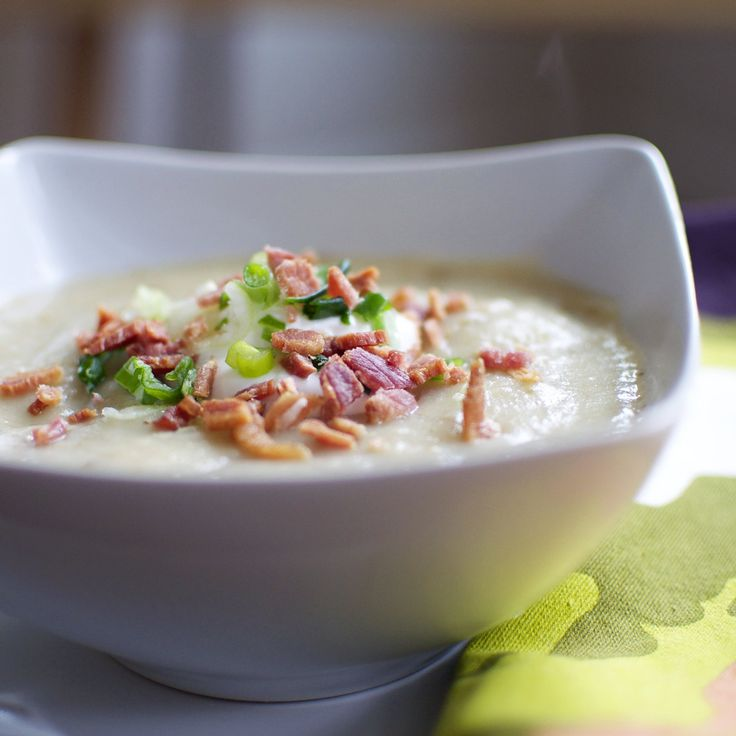 Baked Potato Soup Might Be the Ultimate Gloomy-Weather Comfort Food