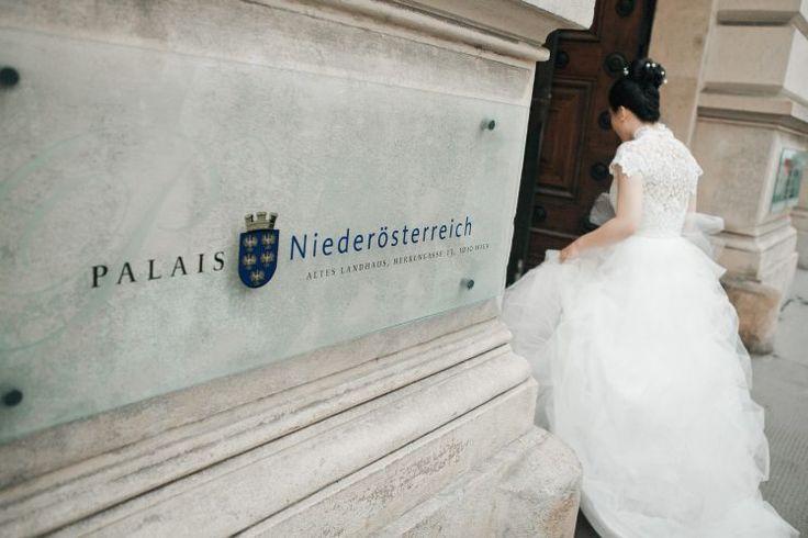 Hochzeit location Palais Nieder Destination Hochzeit Wien