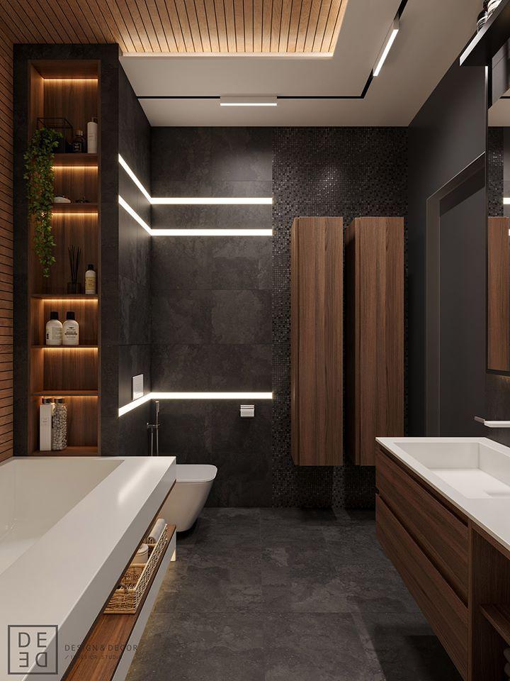 Shelves 面盆側櫃 Master Bathroom Design Bathroom Interior Design Modern Bathroom Design