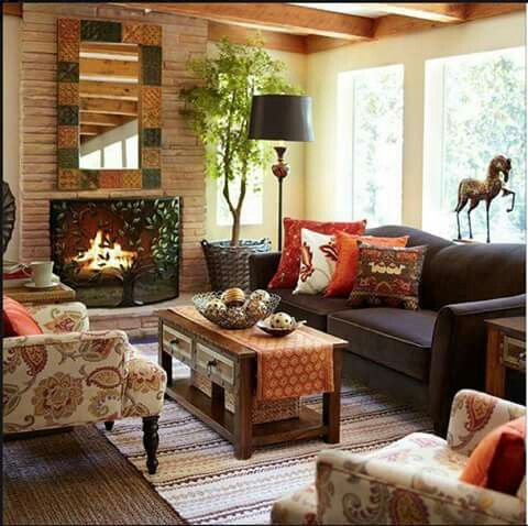 29 Cozy And Inviting Fall Living Room Décor Ideas   DigsDigs Part 87
