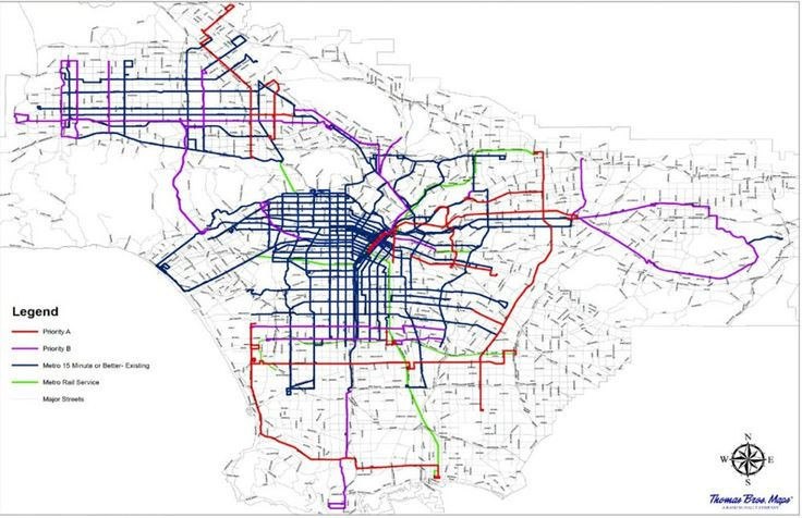 Los Angeles Metro Is Developing Plans for a More Frequent Bus Network - CityLab