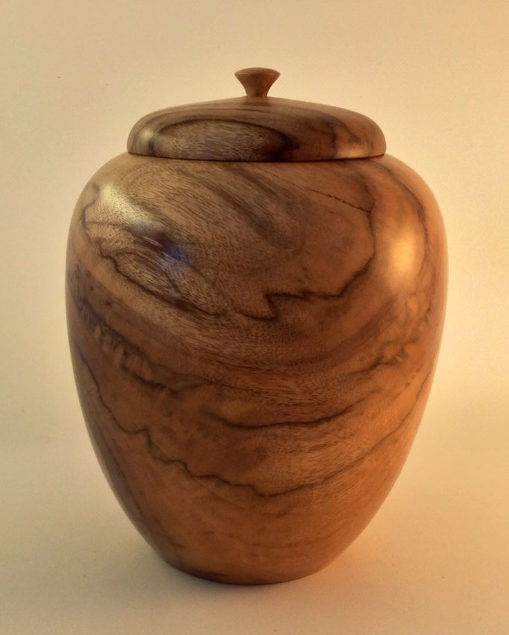 Wooden Cremation Urn Australian Camphor Laurel Wood