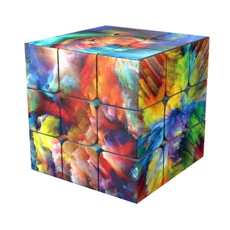 Best Sale personalized diy 3x3x3 Magic Cubing Speed 3x3 uv ...
