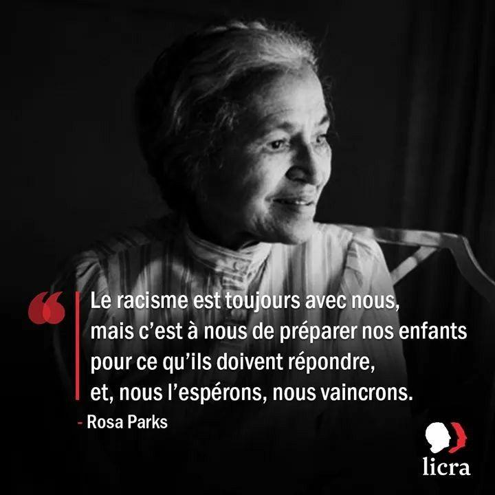 Publication De Licra Rosa Parks Rosa Parks Racisme Et