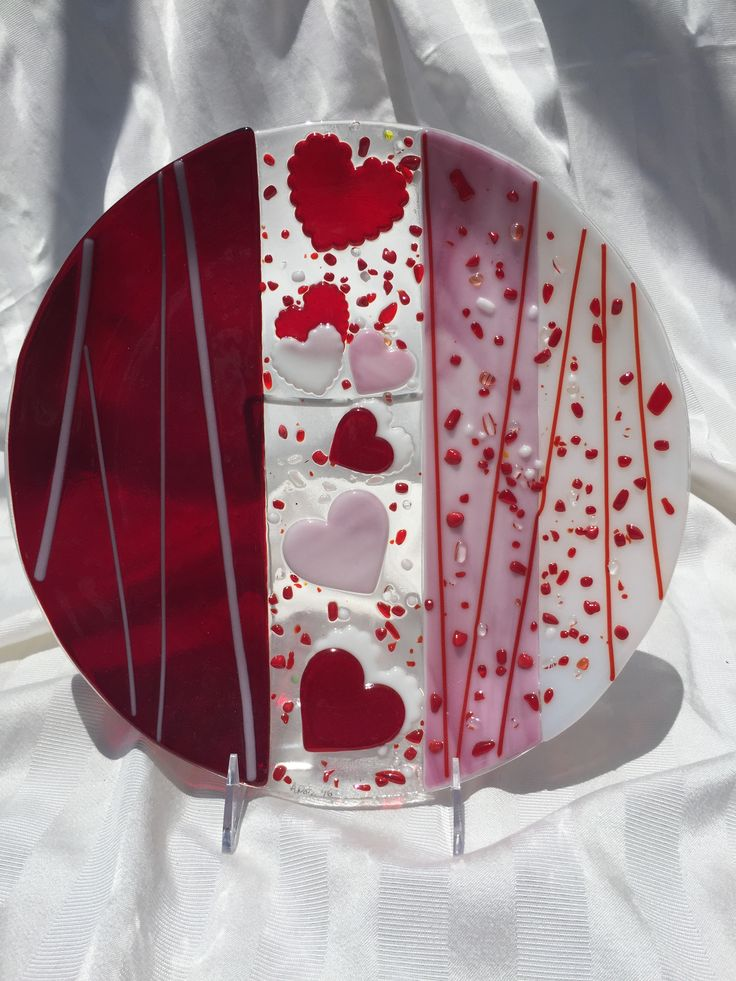 "Be my Valentine 12"" platter"