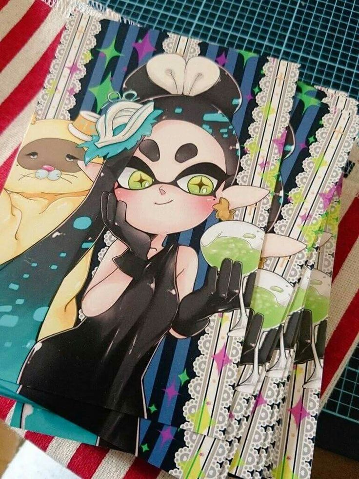 Cute Anime Kitty Wallpaper Callie Splatoon Stuff Splatoon Comics Splatoon