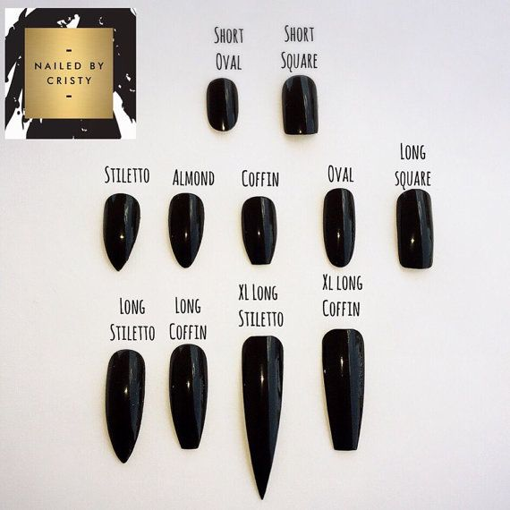 Black Marble Press On Nails Any Shape and Size by NailedByCristy