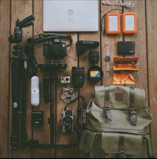 Camera Supplies #langly #packandgo