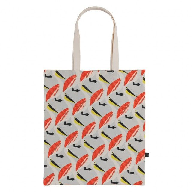 PELLY Multi-coloured patterned tote bag