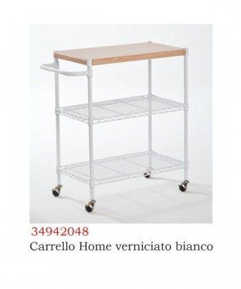 CARRELLO HOME BIANCO