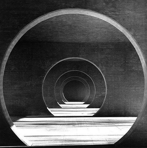 I N S P I R E || Swiss architect Mario Botta's Wohnsiedlung in Novazzano. photo via Ombi Architecture blog.https://customlighting.com.au