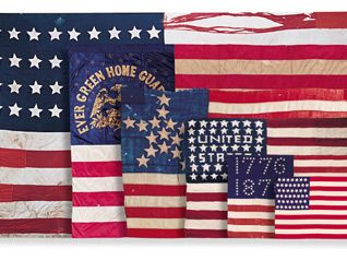 I was lucky to see this program an American Flag program on PBS tonight.  Although is is a few year old, I really enjoyed it and am, as always Proud to be an American.