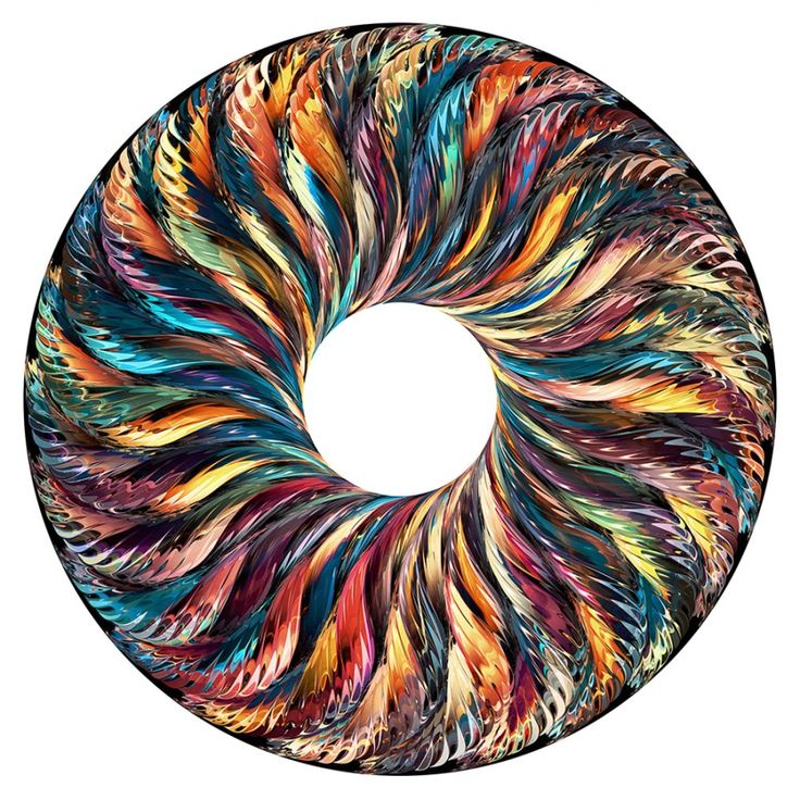 Modern ArtBuyer: Radial 3 / Kandy Black by Chuck Elliott