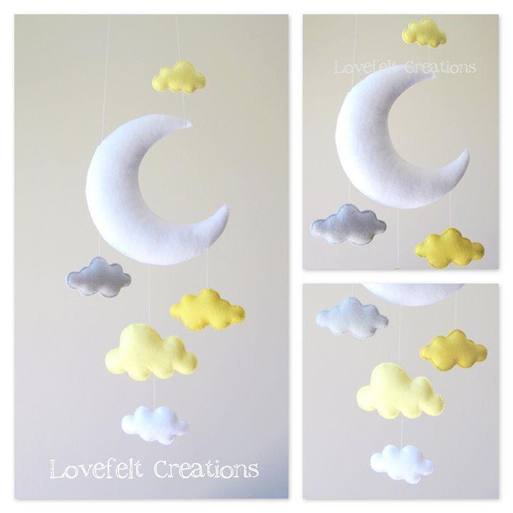 mobil luna y nubes