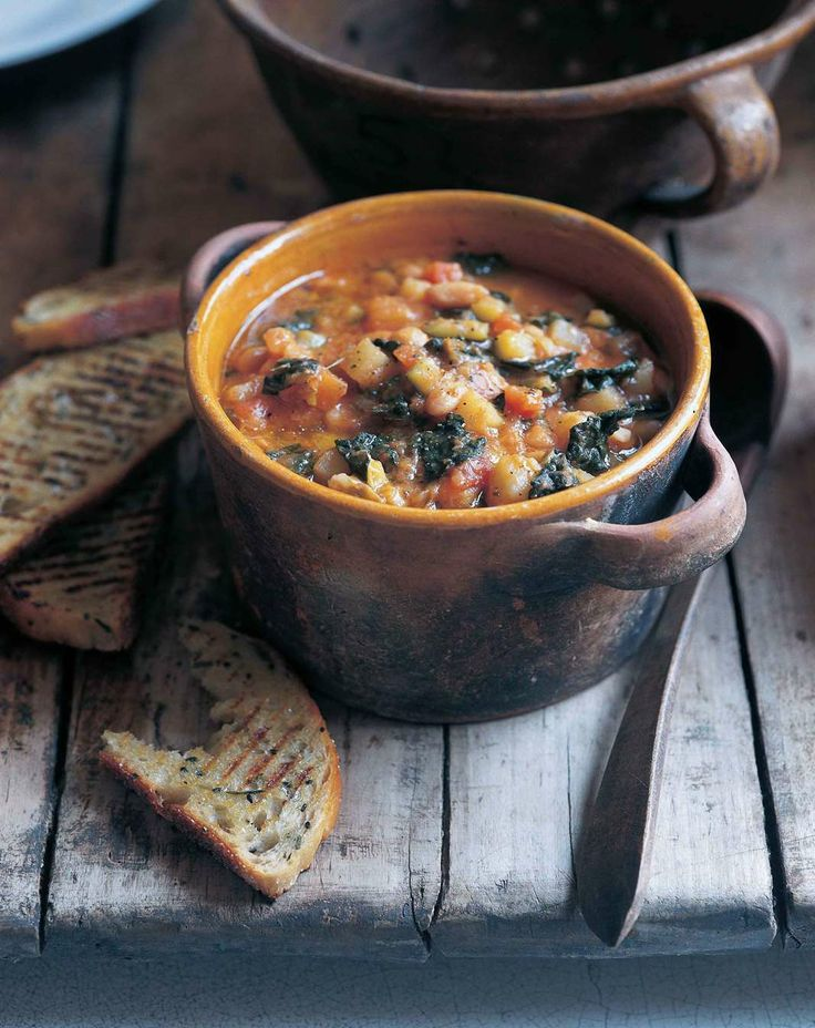 'Re-boiled' cabbage soup by Antonio Carluccio from The Collection | Cooked