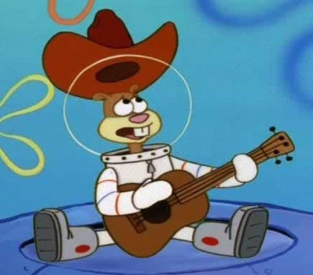 """Sandy Cheeks - Carolyn Lawrence (voice) - """"Spongebob Squarepants""""    19 Famous Fictional Sandys From TV And Film"""