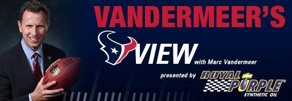 Vandermeer's View: Schedule Breakdown