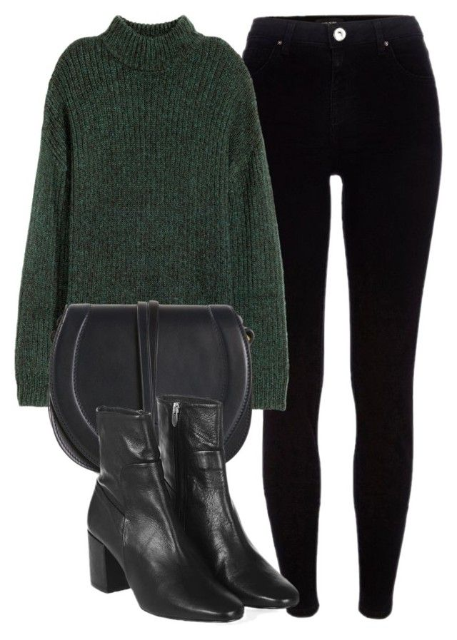 Untitled #6037 by laurenmboot on Polyvore featuring polyvore, mode, style, H&M, River Island, Topshop, Jérôme Dreyfuss, fashion and clothing