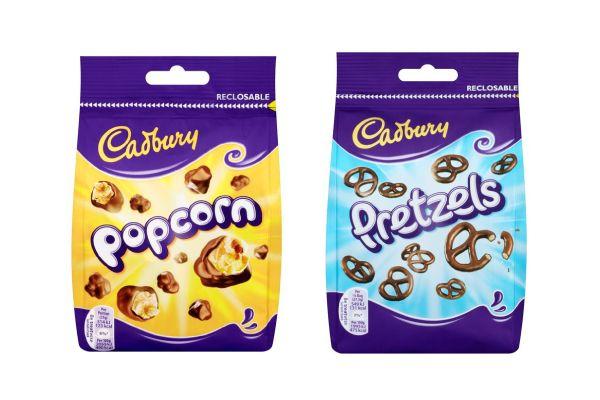 Cadbury Popcorn & Pretzels - Rob Clarke Type Design & Lettering