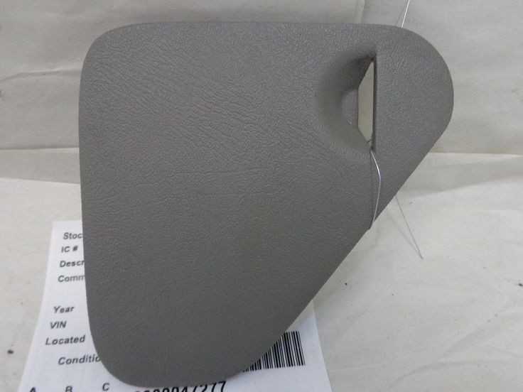 chevy k1500 dash fuse panel cover gray 1998 gmc 15031535