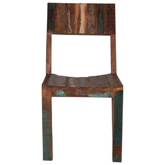STUHL in Holz Multicolor - Stühle - Esszimmer - Wohn- & Esszimmer - Produkte