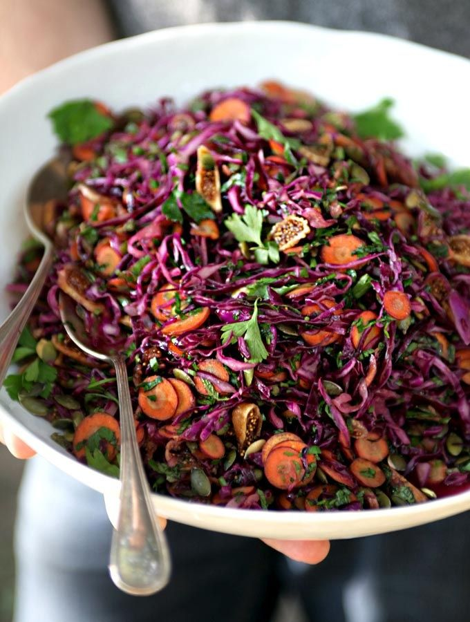 Purple Power Salad- My New Roots http://www.mynewroots.org/site/2013/08/purple-power-salad-for-a-picnic/