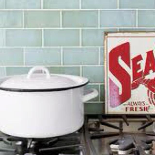 7 Best Images About Sea Glass Backsplash On Pinterest